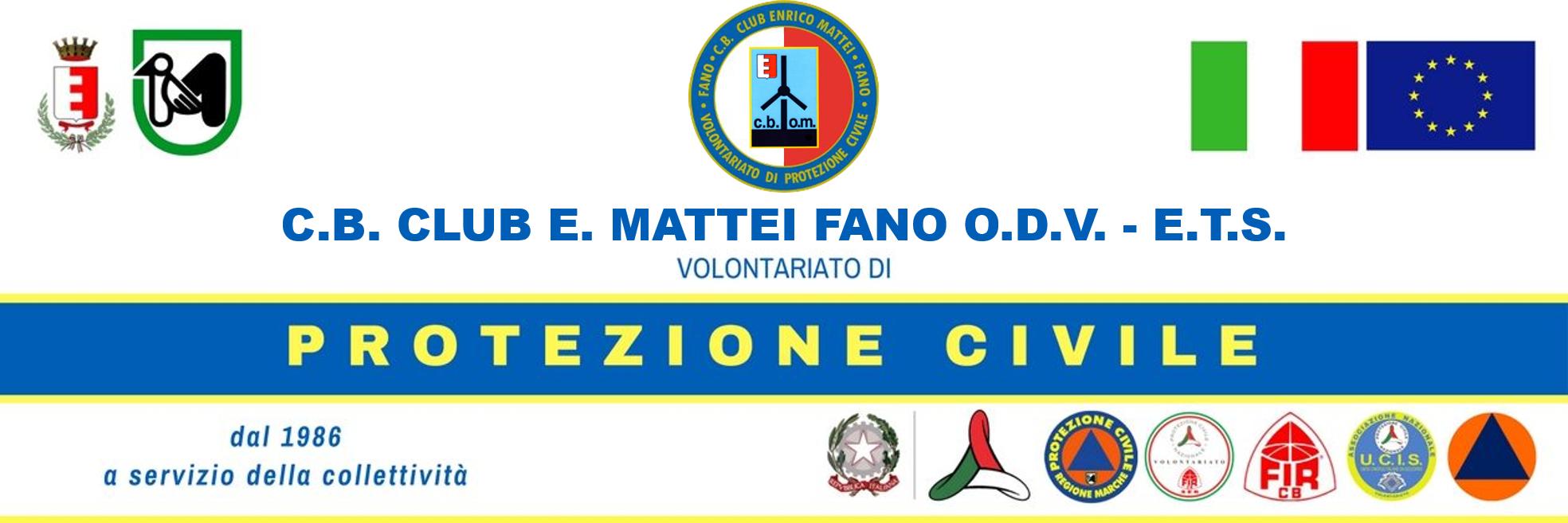 C.B. Club E. Mattei Fano (PU) O.D.V. - E.T.S.